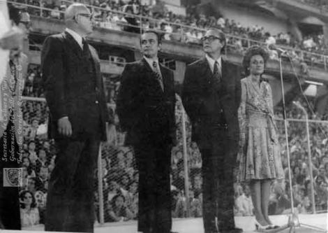 Inauguración Juegos Panamericanos, Cali, 1977.